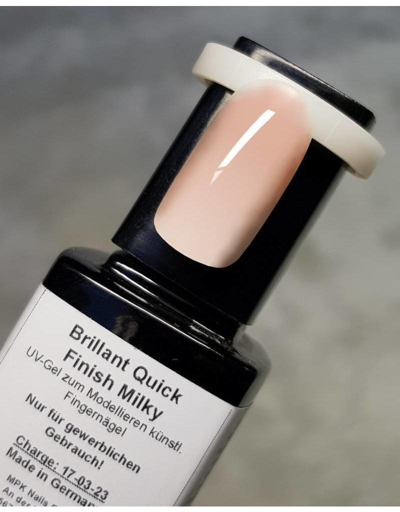 MPK Nails® Brillant Quick Finish Milky 10ml