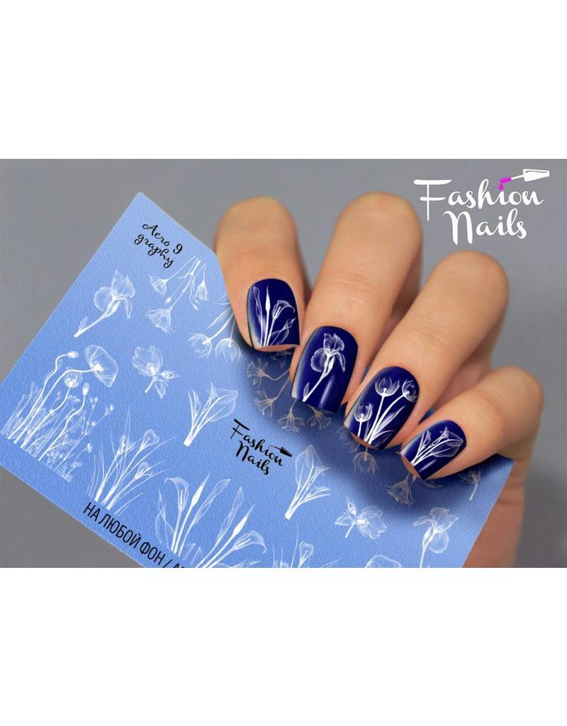 Nail Wraps Aero 9