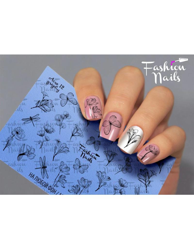 Nail Wraps Aero 12