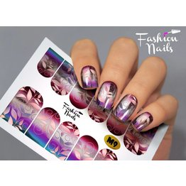Fashion Nails Nail Wraps metallic