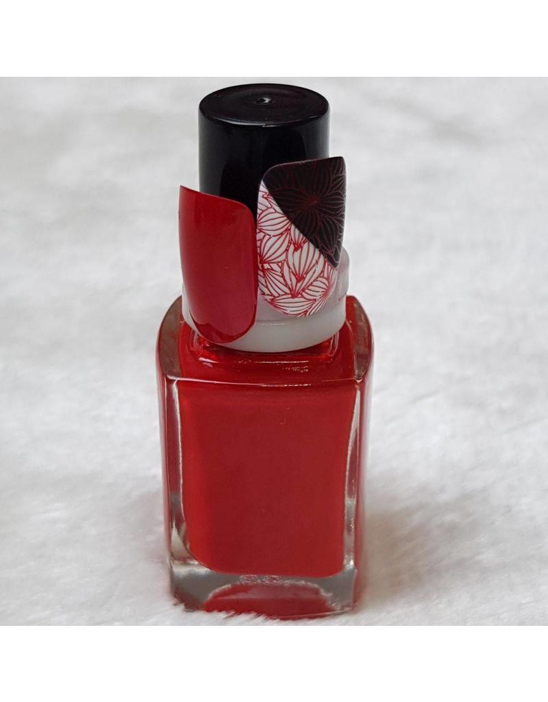 MPK Nails® Stampinglack 10ml 07 Hellrot