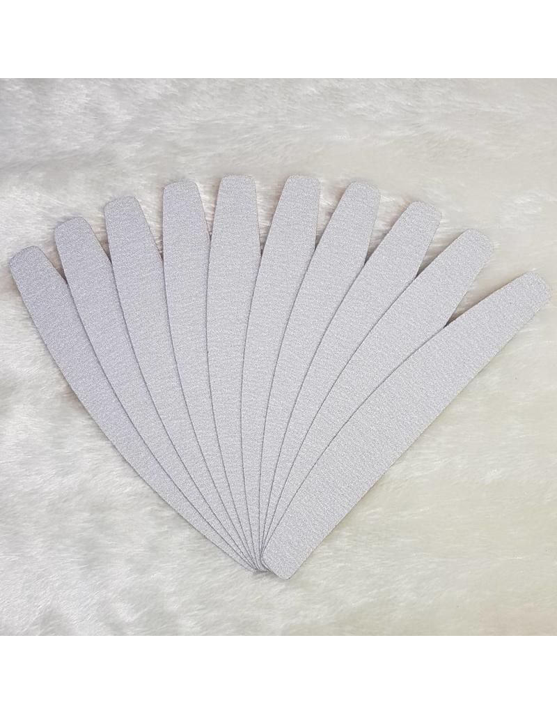 MPK Nails® Zebra-Feilblätter Halbmond 150