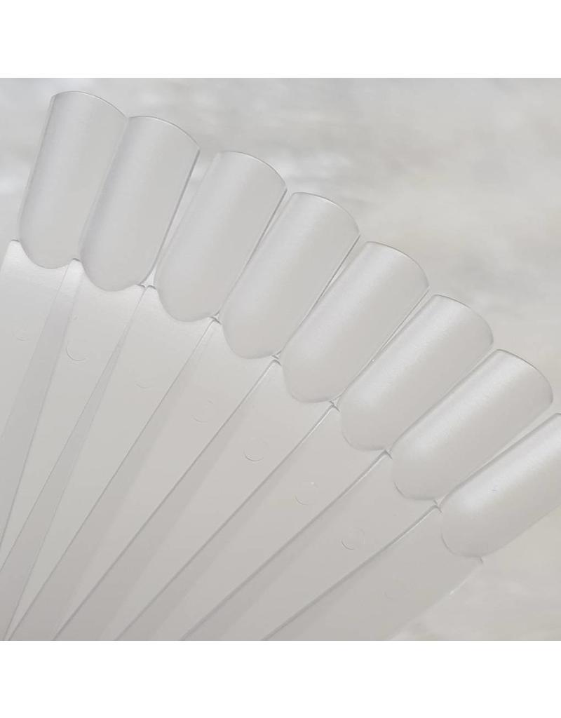 MPK Nails® 40x Ersatztips für Präsentations Fächer satiniert