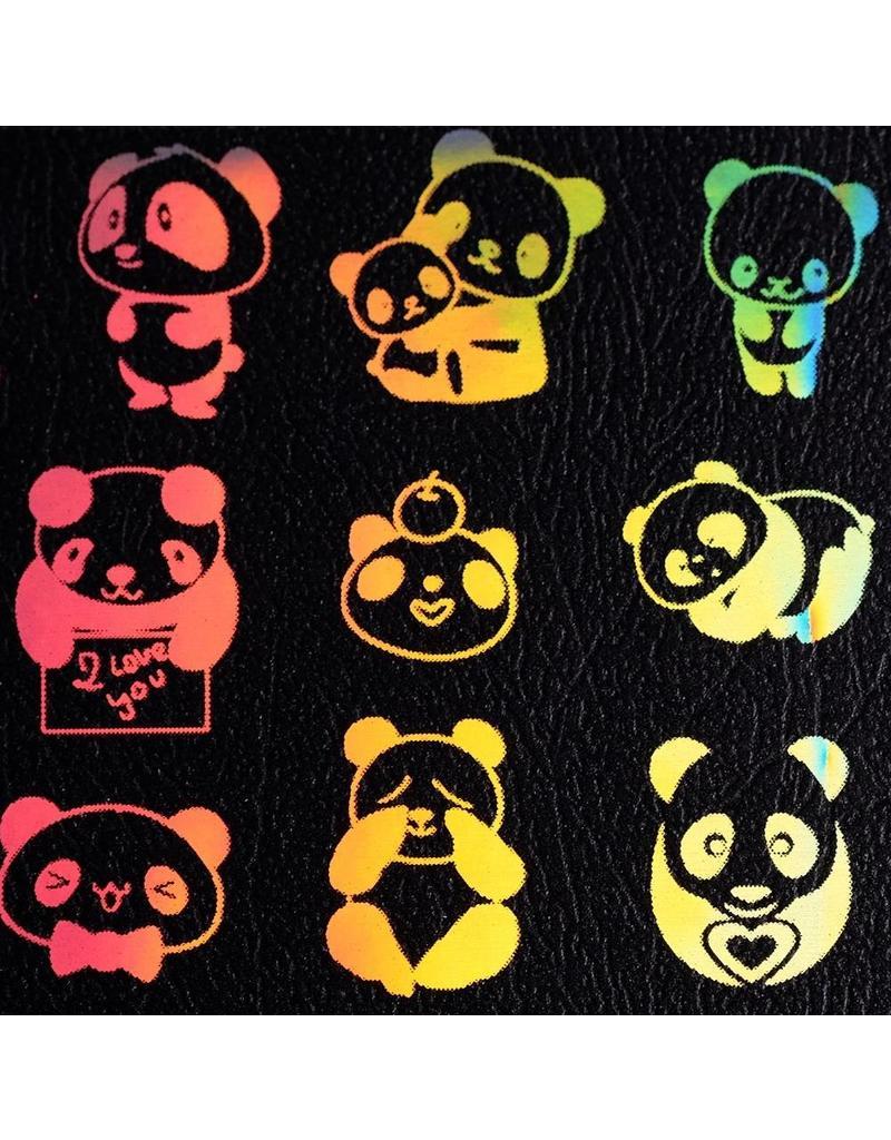 Holo Transfer Folie Panda