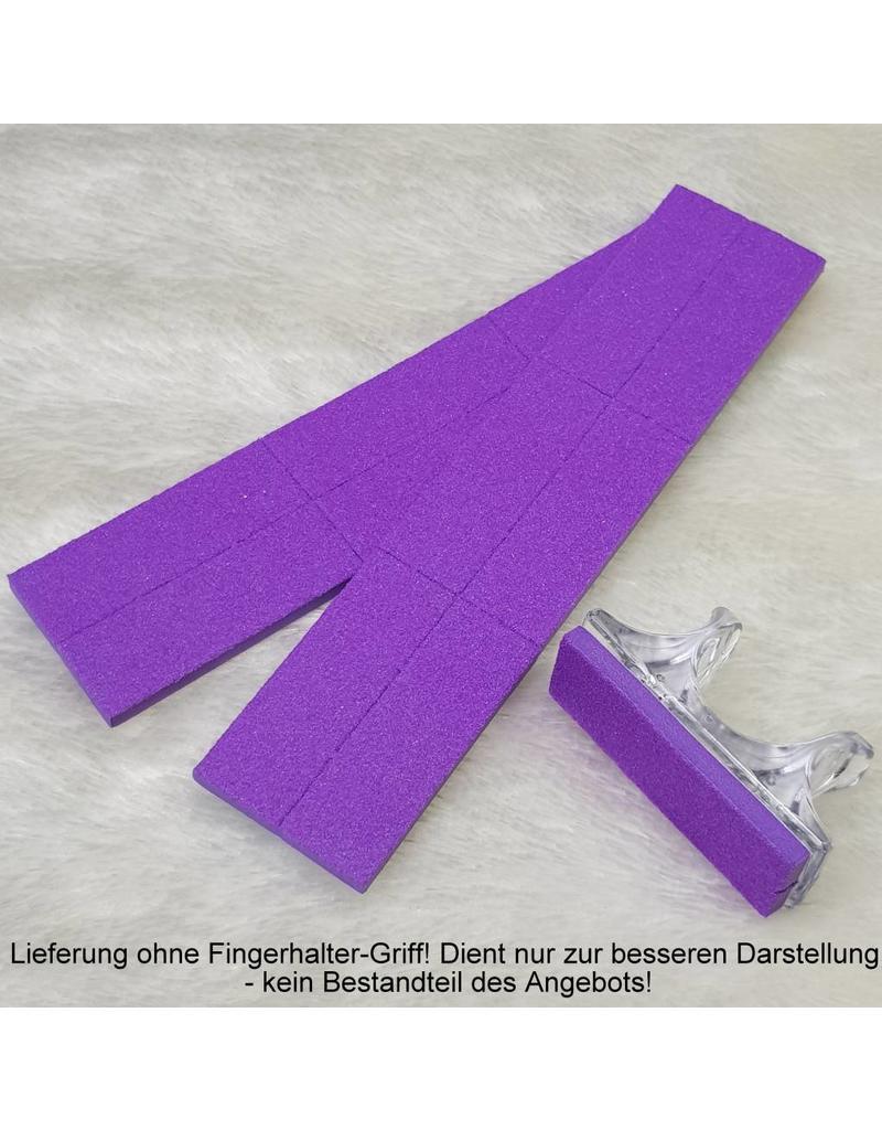 MPK Nails® 12x Feilpad für Mini-Buffer, 120 - mittel
