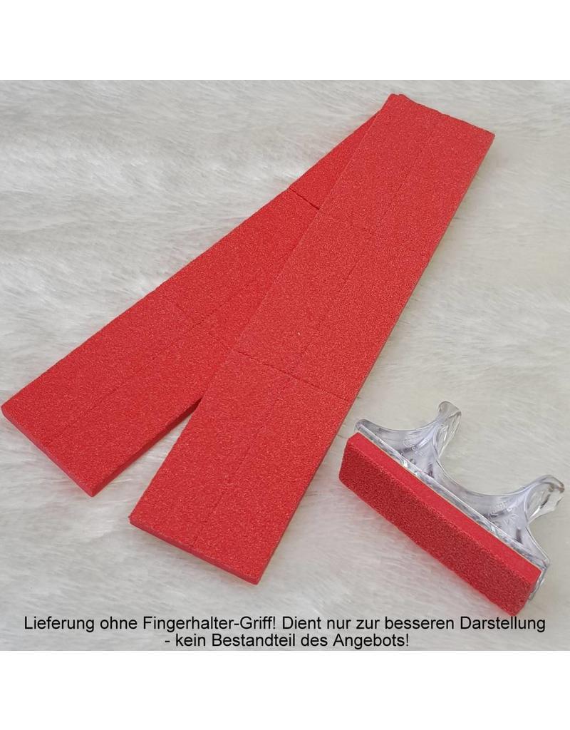 MPK Nails® 12x Feilpad für Mini-Buffer, 80 - grob
