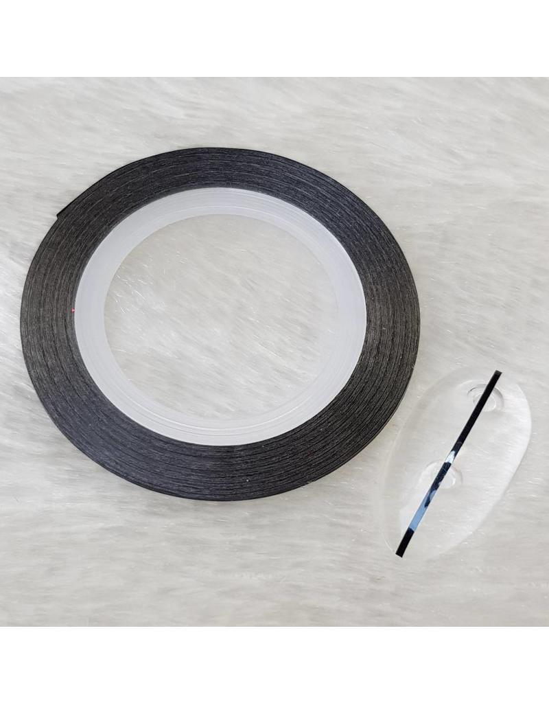 Nailart Zierstreifen schwarz