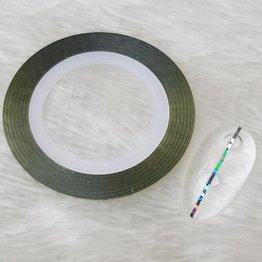 MPK Nails® Nailart Zierstreifen  Holo Blaugrün