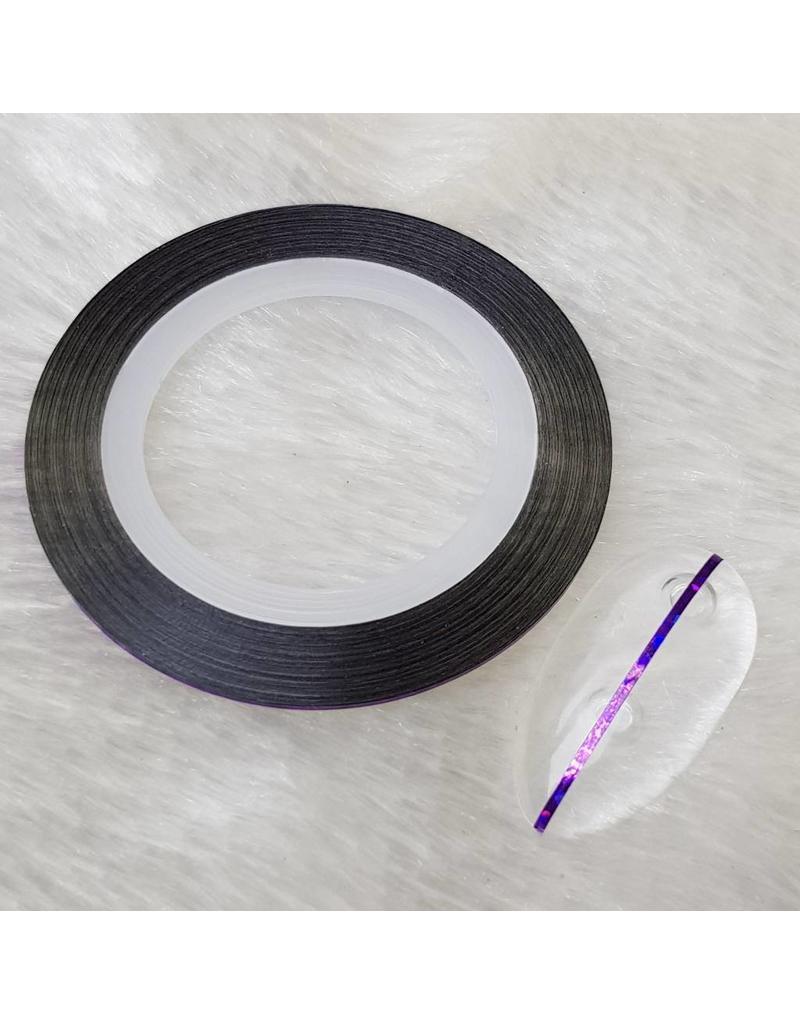 MPK Nails® Nailart Zierstreifen holo lila