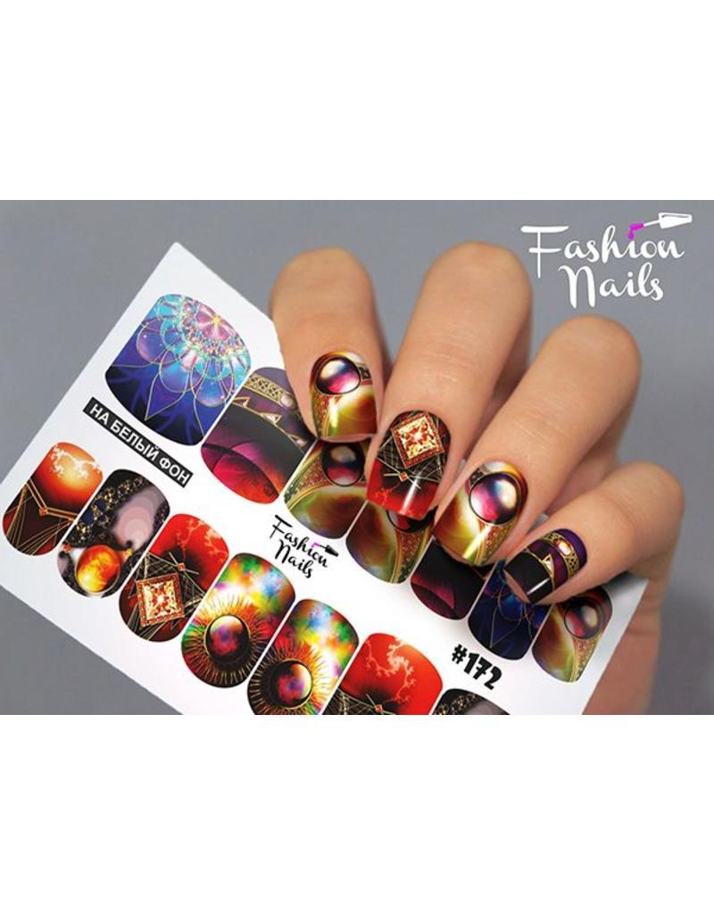 Nail Wraps Design FN172