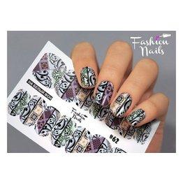 Nail Wraps Design FN62