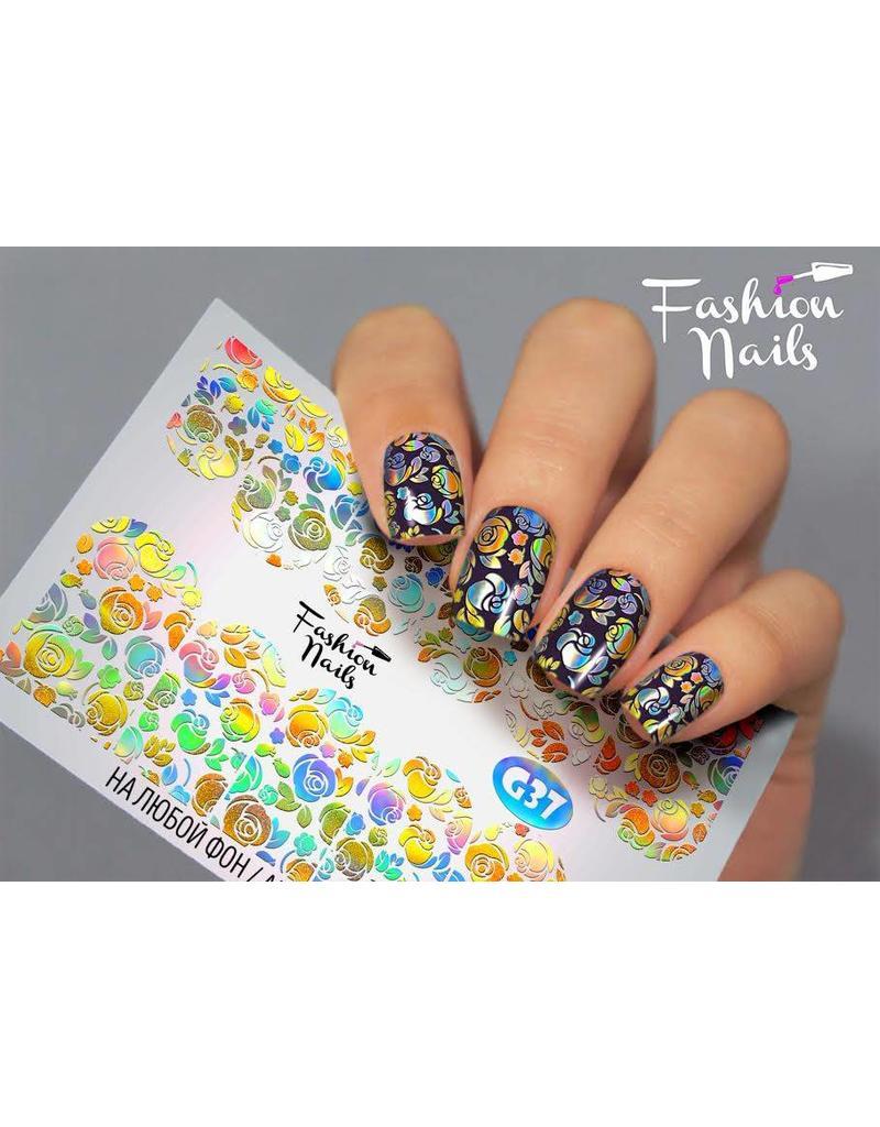 Nail Wraps Galaxy G37