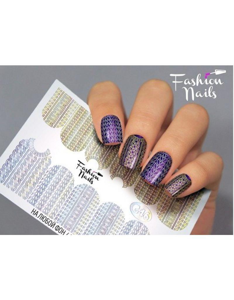 Fashion Nails Nail Wraps Galaxy