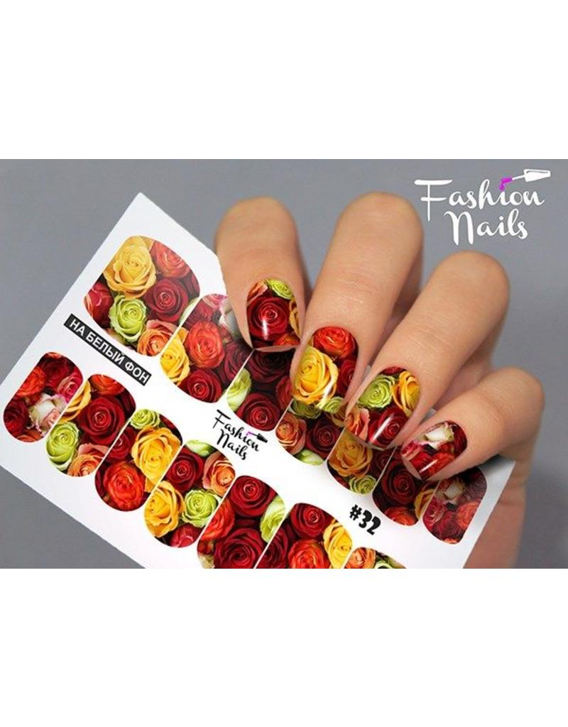 Nail Wraps Design FN32