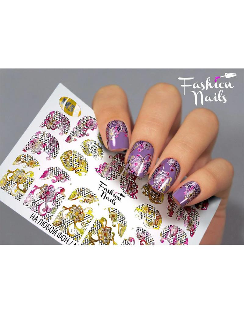 Nail Wraps metallic m55
