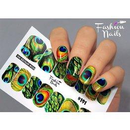 Nail Wraps Design FN191