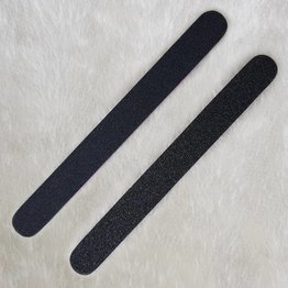 MPK Nails® Profi Feile gerade schwarz, pinker Kern