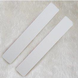 MPK Nails® 25x Profi Feile extra breit, pinker Kern