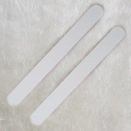 MPK Nails® Profi Feile gerade weiß, pinker Kern
