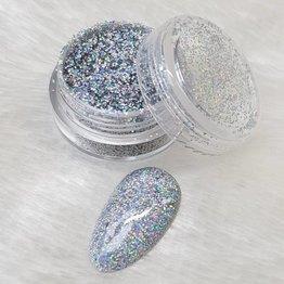 Holo Glitterstaub Silver