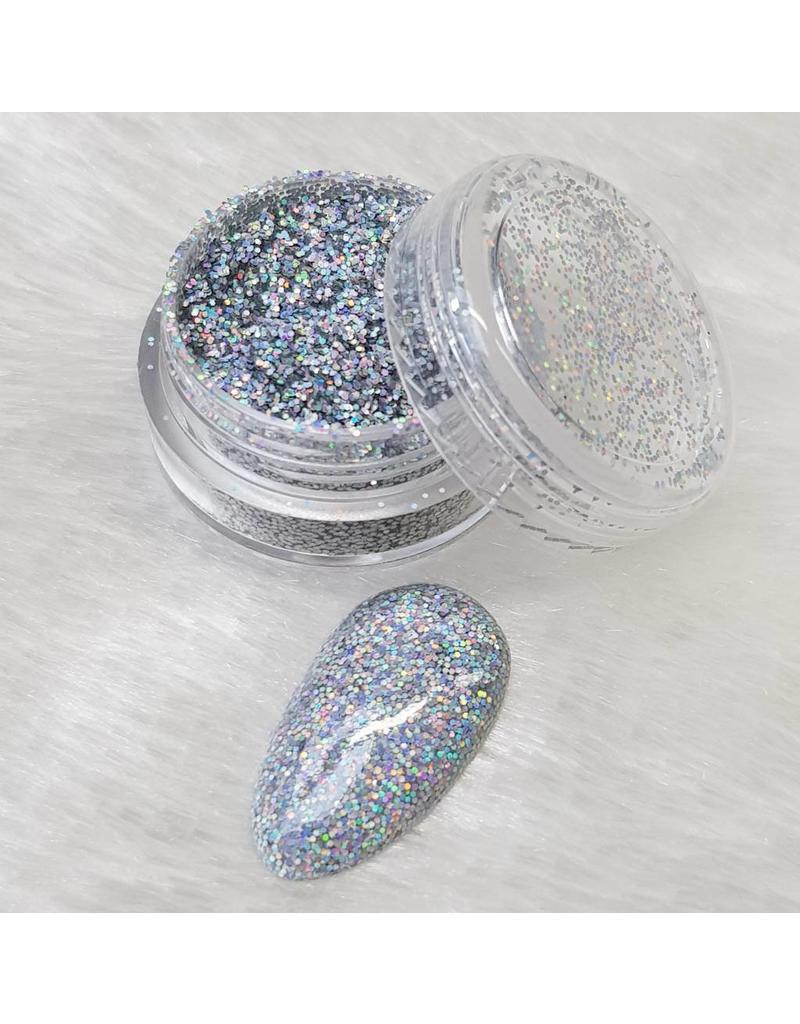MPK Nails® Holo Glitterstaub Silver