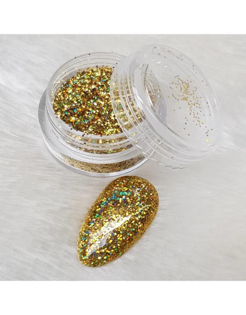 Holo Glitterstaub Gold