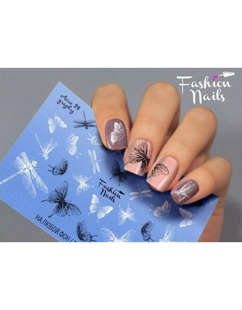 Nail Wraps Aero 24