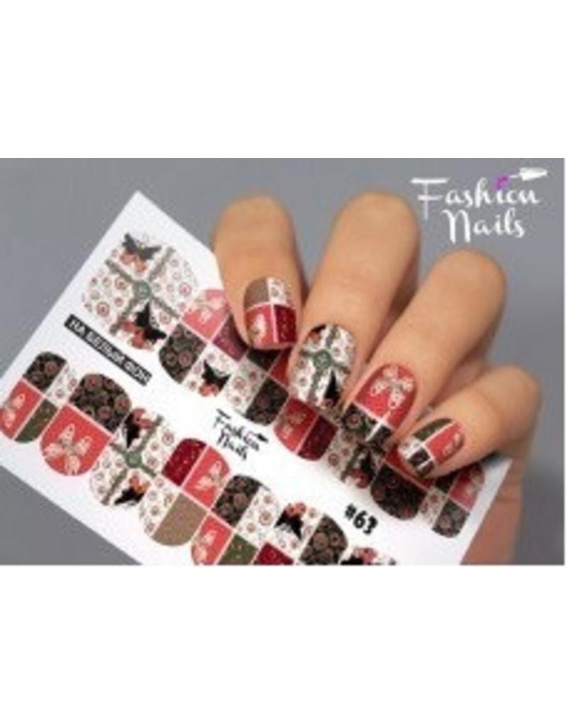 Nail Wraps Design FN63