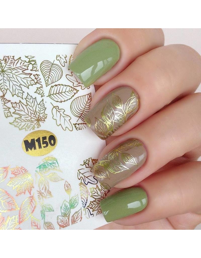 Nail Wraps metallic m150