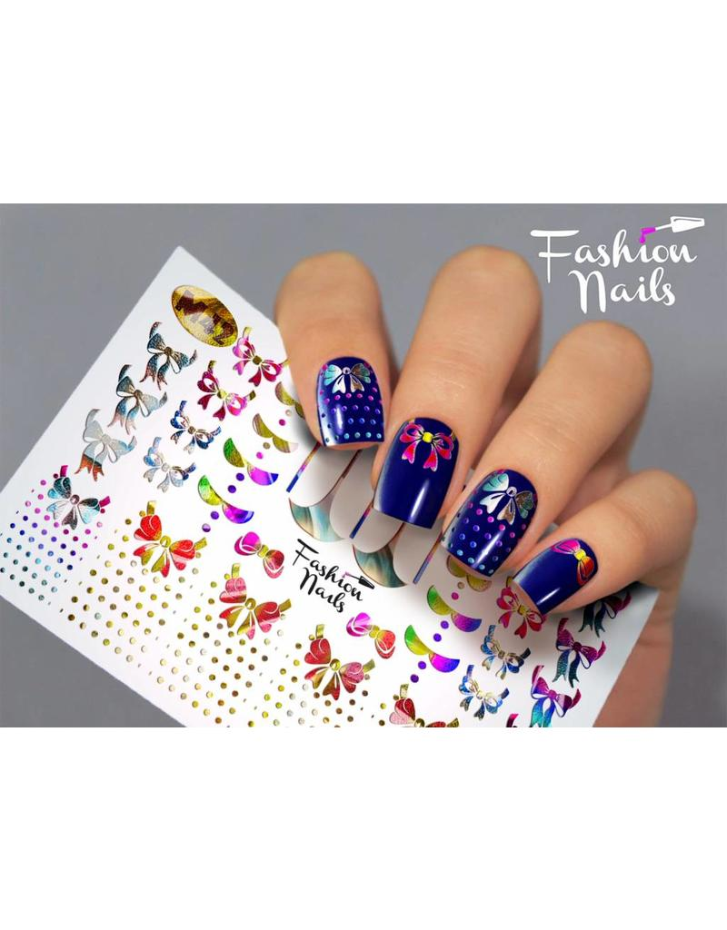 Nail Wraps metallic m42
