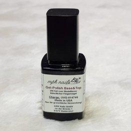 MPK Nails® Base- & Top Coat für Gel Polish  10ml