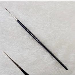 MPK Nails® Liner extra fein Toray rot, #10/0 mit Logo