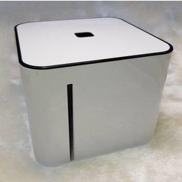THE CUBE Zellettenbox schwarz/weiß