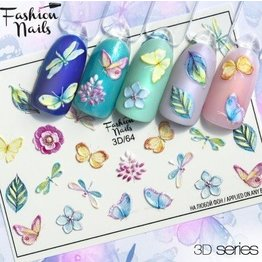 Fashion Nails Nail Wraps 3D - Neu