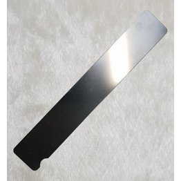 Edelstahlboard Rechteck extra breit 18cm