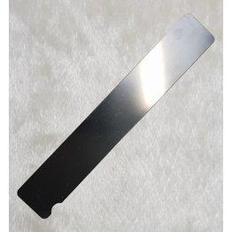 MPK Nails® Edelstahlboard Rechteck extra breit 18cm