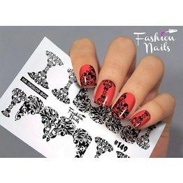 Nail Wraps Design FN149