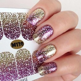 Fashion Nails Nail Wraps metallic - Neu