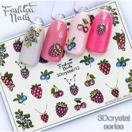 Fashion Nails Nail Wraps 3D Crystal
