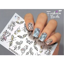 Fashion Nails Nail Wraps Galaxy - Neu