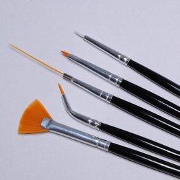 MPK Nails® Naildesign Pinselset 5tlg.