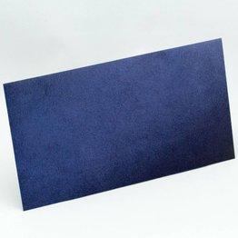 Kuvert lang, Blau mit Struktur