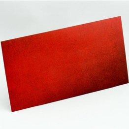 Kuvert lang, Rot mit Struktur