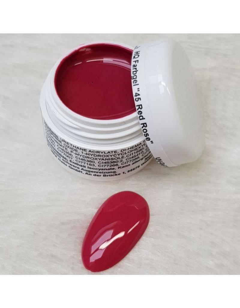 MPK Nails® High Quality Farbgel HQ-45 Red Rose