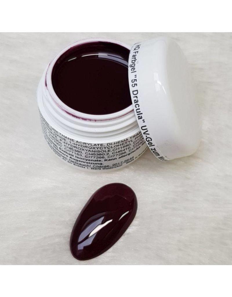 MPK Nails® High Quality Farbgel HQ-55 Dracula