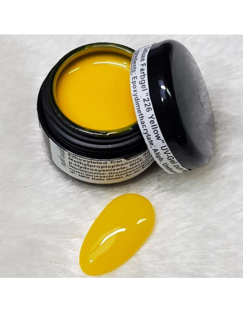 Deluxe Farbgel 226 Yellow
