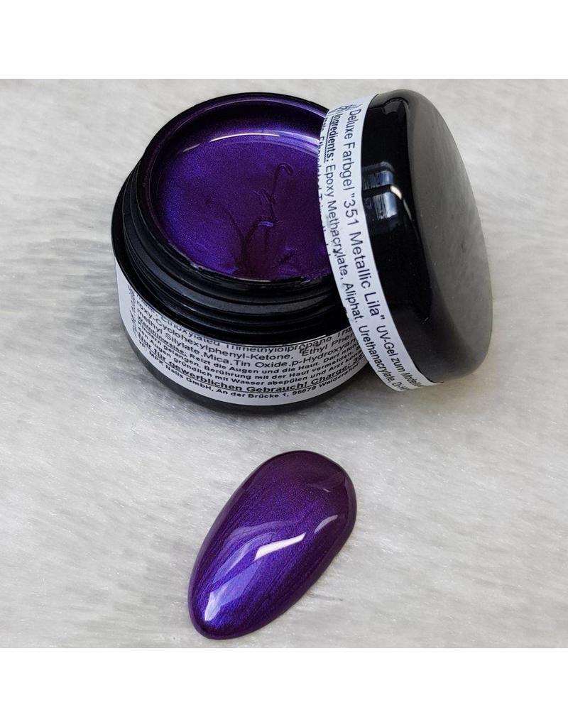 MPK Nails® Deluxe Farbgel 351 Metallic Lila