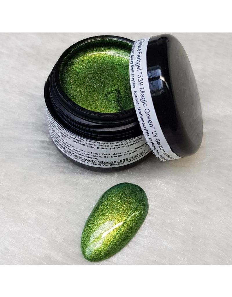 Deluxe Farbgel 539 Magic Green
