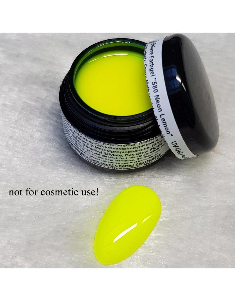 Deluxe Farbgel 580 Neon Lemon