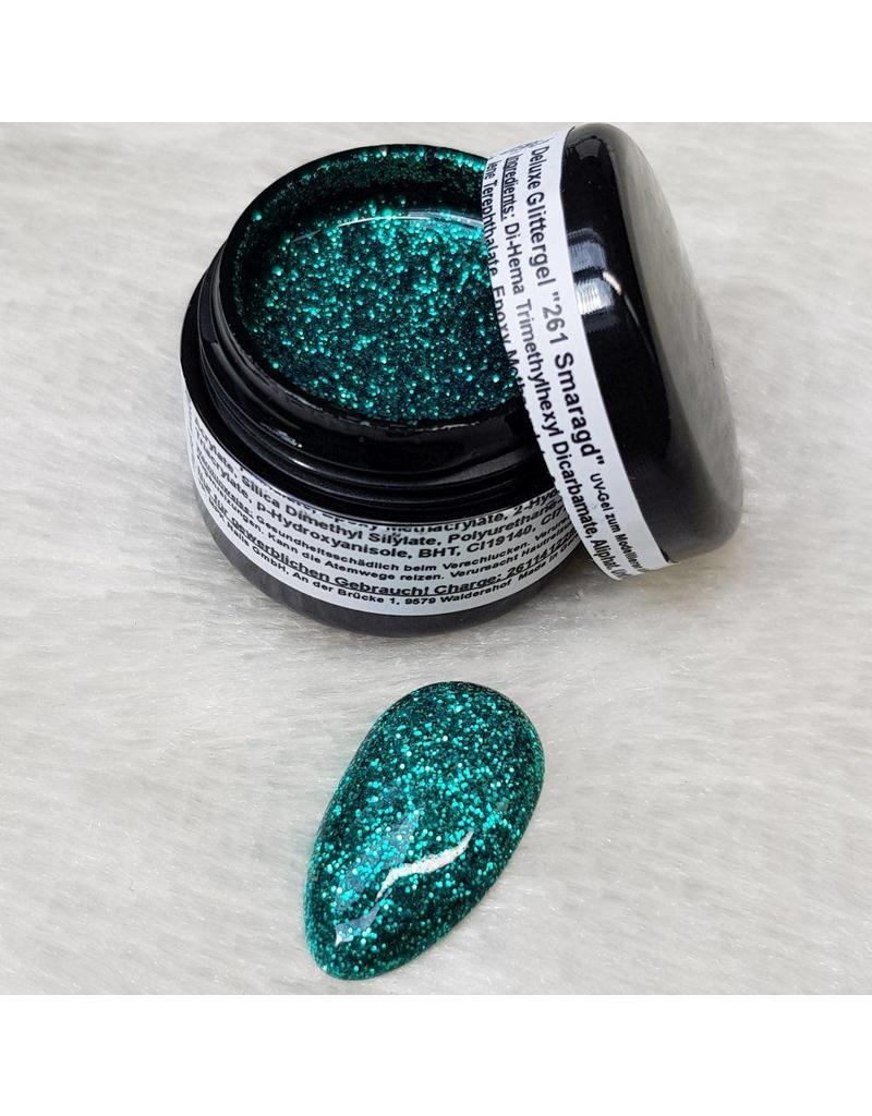 MPK Nails® Deluxe Glittergel 261 SMARAGD